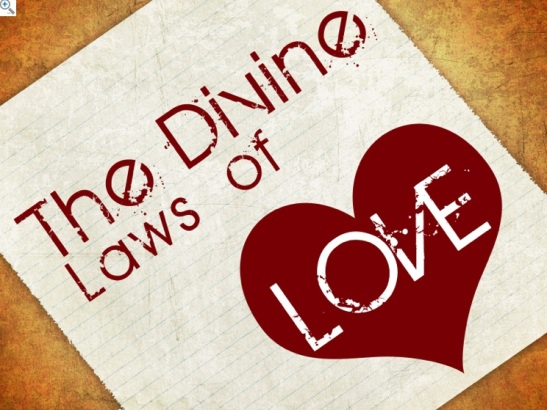 Love the devine laws of love