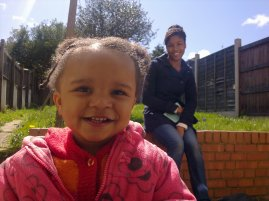 Back-garden smiles 2012