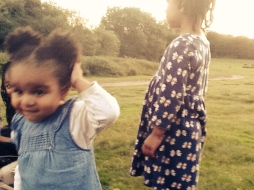 Best friends, Sutton Park 2014