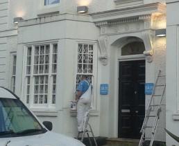Painting Edgbaston white